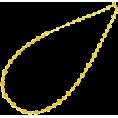 abiste - レースチェーンロングネックレス/ゴールド - Jewelry - ¥9,870  ~ $100.41