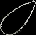 abiste - レースチェーンロングネックレス/シルバー - Jewelry - ¥9,870  ~ $100.41