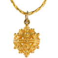 adriashinju - ドブロブニクのボタン ペンダントヘッド(14金) 大 - Necklaces - ¥32,000  ~ $325.56