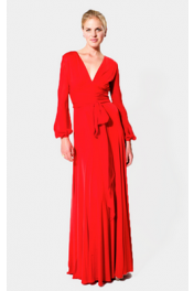 Red Sarai Dress - Catwalk