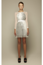 Concrete Drape Dress - Catwalk