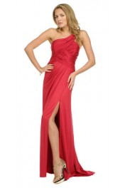 Jessica Red Gown - Passarela