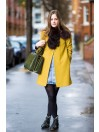 Yellow coat style - la isla bonita