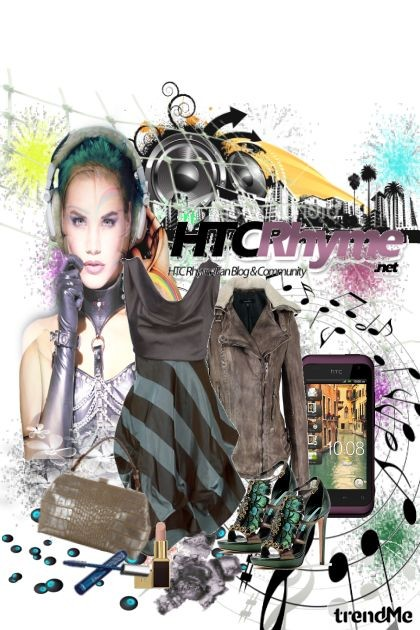 i wanna dance with HTC Rhyme- Fashion set