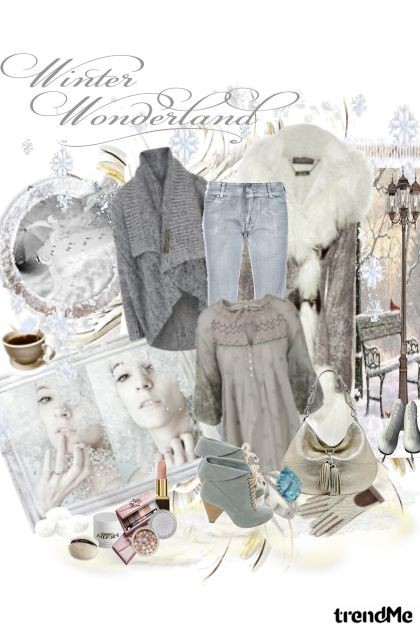 Winter is a wonderland- Fashion set