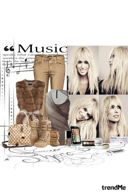 music my life- Fashion set