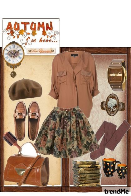autumn is here- Fashion set