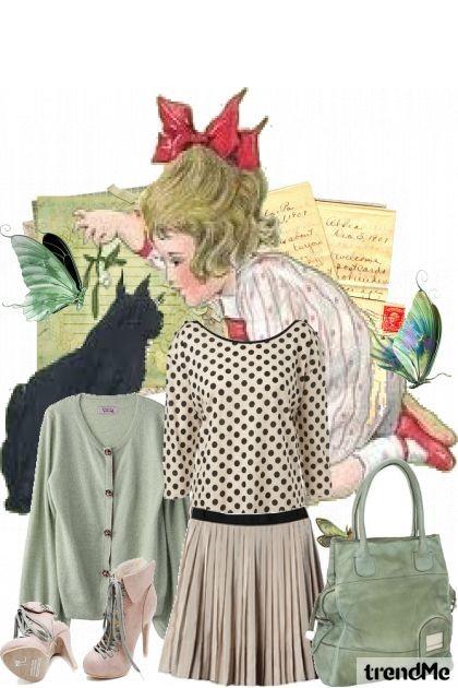 Devojče, devojče crveno jabolče- Fashion set