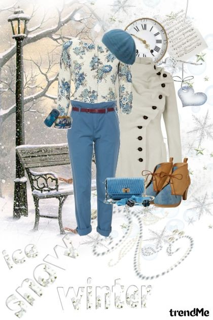 Ice, snow = WINTER- Fashion set