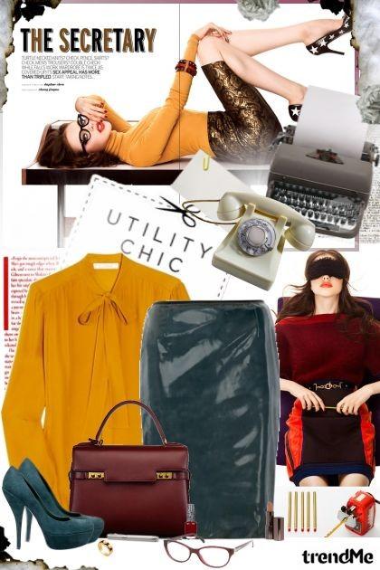 The secretary!- Fashion set