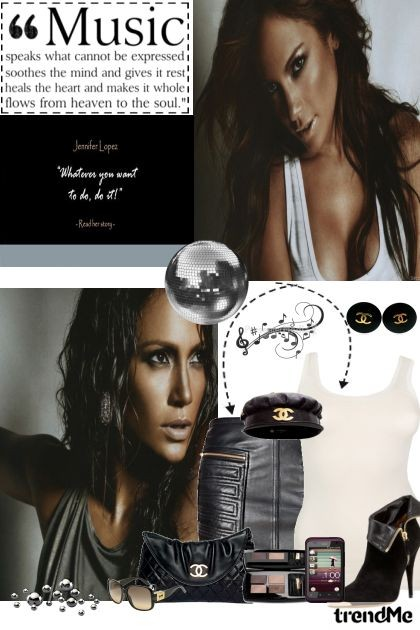 HTC by J.Lo.- Fashion set