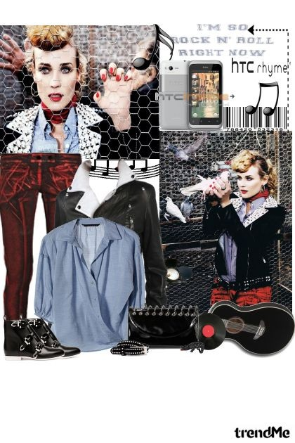 I`m so rock n`roll right now!- Fashion set