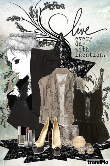 Strong intention- Fashion set