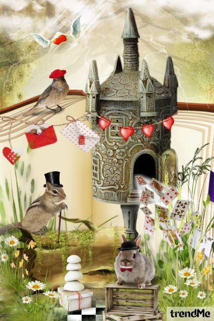 Storytelling at Birdies Castle- Fashion set