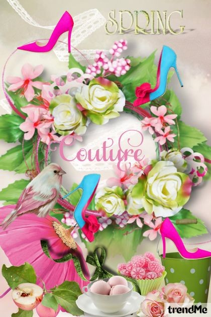 Spring Couture Collection I- Fashion set