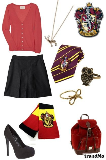 Gryffindor - uniforme- Fashion set