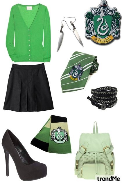 Slytherin - uniforme- Fashion set