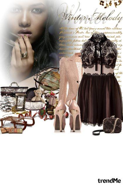 Winter Melody- Fashion set