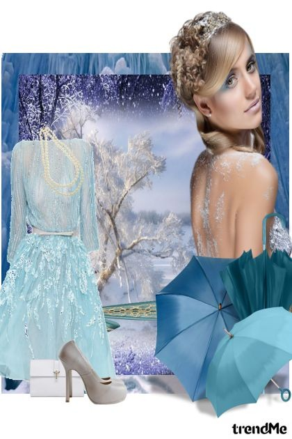 ice blue- Fashion set