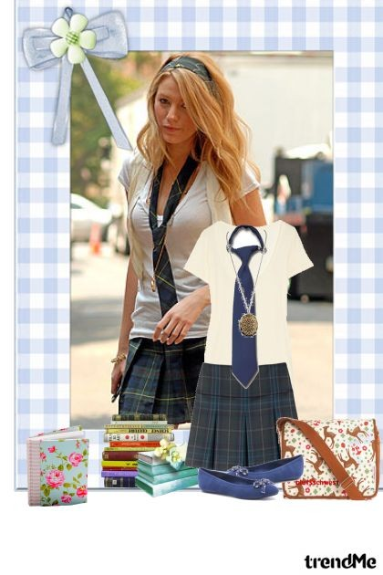 school serena- Fashion set