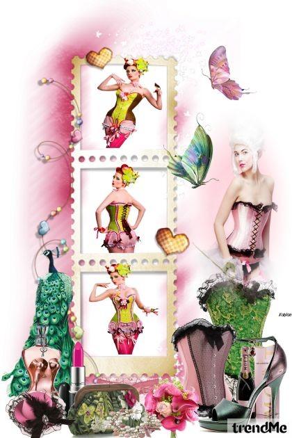 Life is like a cabaret- Fashion set