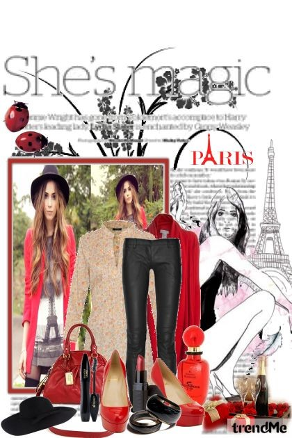 The magic of Paris- Fashion set
