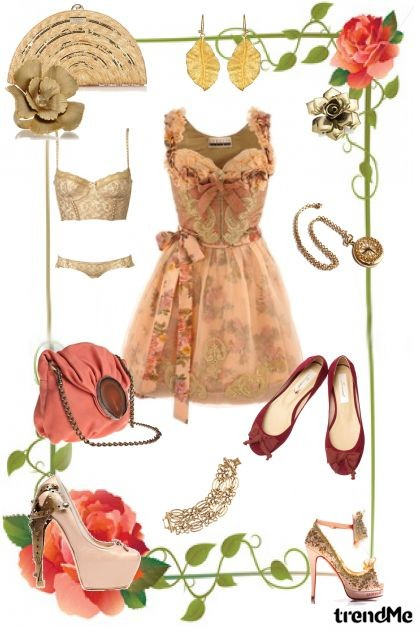 Vintage Florals- Fashion set