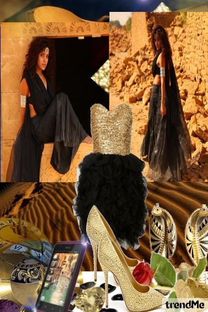 Desert rose- Fashion set