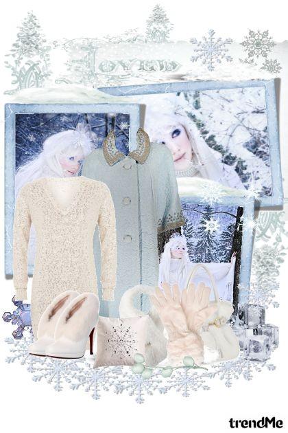 Nježna  zima- Modna kombinacija