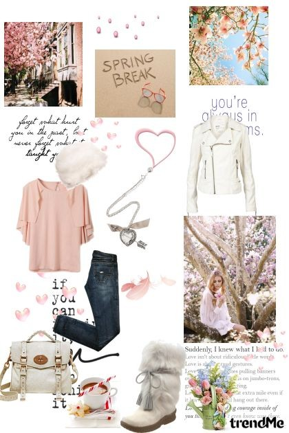 Spring hearts- Fashion set