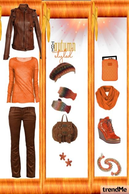 Orange- Fashion set