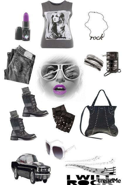 Rock- Fashion set
