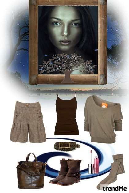 natural- Fashion set