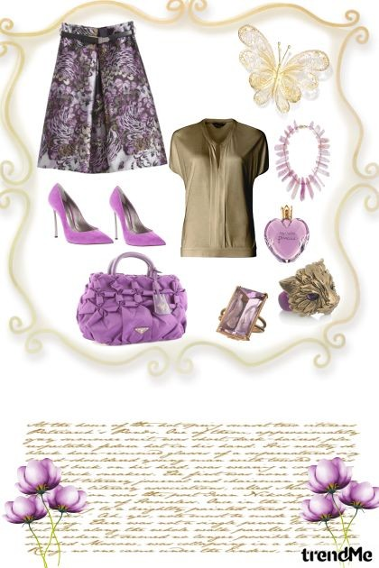Lilac- Fashion set