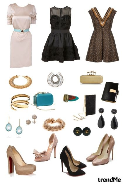 BRIDAL SHOWER SHEEK- Fashion set