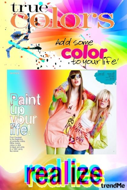 LIFE IN COLORS- Fashion set