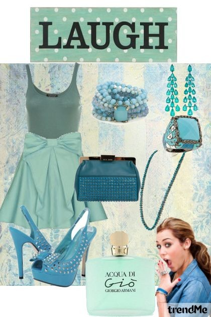 YOUR LAUGH IS BLUE !!??!!- Fashion set