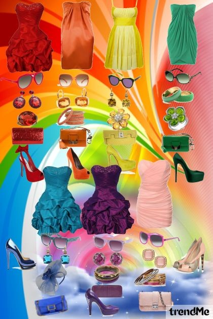 Rainbow Fashion- Fashion set