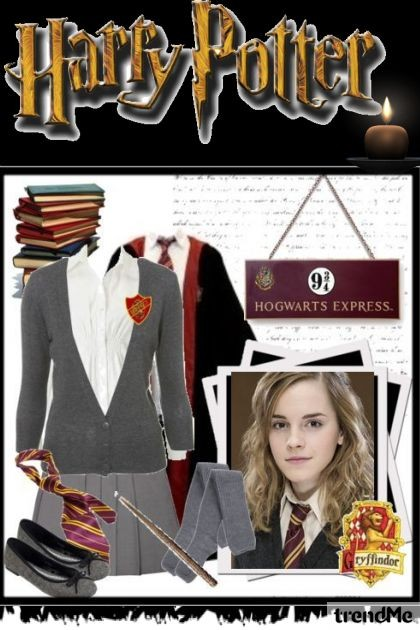 Harry Potter- Combinazione di moda
