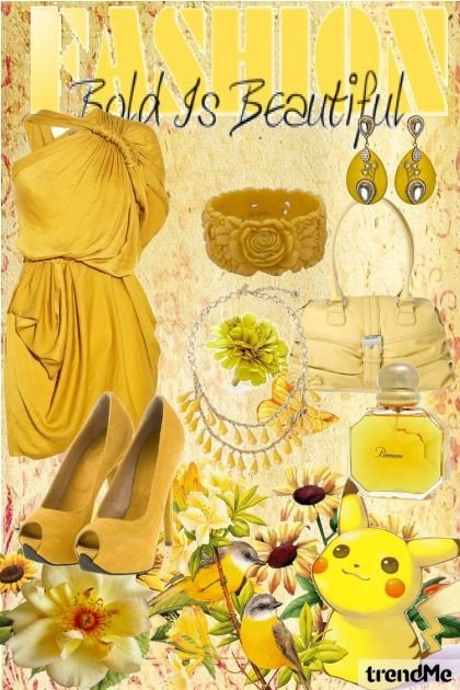 Yellow Bold is Beautiful- Fashion set