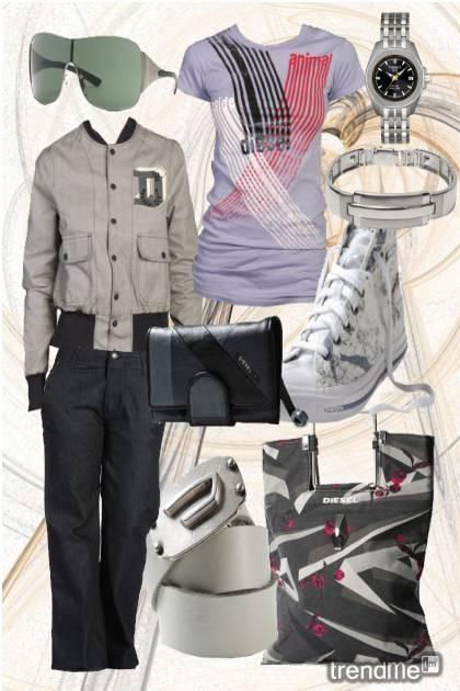 Love DIESEL- Fashion set