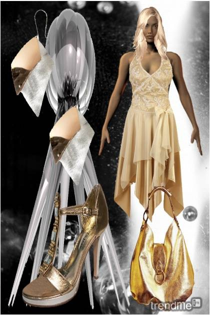 silver&gold.- Fashion set