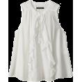 AMERICAN RAG CIE(ラグシー) - アメリカンラグ シー【再入荷】Si/Tenローンノースリーブブラウス - Shirts - ¥14,700  ~ $149.55