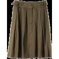 DEUXIEME CLASSE(ドゥーズィエム) - ドゥーズィエム クラス【再入荷】CO/CU ツイルタックスカート - Skirts - ¥12,600  ~ $128.19
