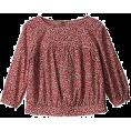 MACKINTOSH PHILOSOPHY - マッキントッシュ フィロソフィー幾何柄プリント ブラウス - Long sleeves shirts - ¥9,450  ~ $96.14
