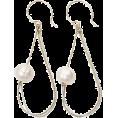 GALLARDAGALANTE(ガリャルダガラ) - ガリャルダガランテチェーンループパールピアス - Earrings - ¥5,040  ~ $51.28