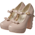 LIZ LISA(リズリサ) - 【JugeETTA】Tストラップリボンパンプス - Shoes - ¥10,290  ~ $104.69