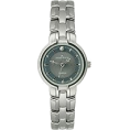 AK Anne Klein Satovi -  AK Anne Klein Diamond Collection Gunmetal Dial Women's watch #10/3049GYDI