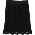AK Anne Klein - AK Anne Klein Women's Petite Lace Slim Skirt Black - Skirts - $43.52