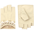 Elena Ekkah - ASOS Premium Pearl Detail Leat - Gloves -